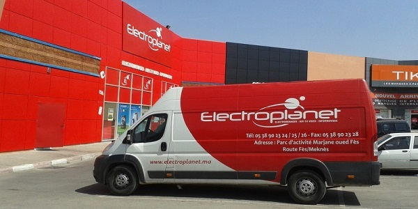 شركة إلكتروبلانيت Electroplanet تفتح متجر جديد بالرباط وتعلن توظيف 96 منصب. بائعين وصرافين وسائقي