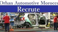 شركة Orhan Automotive Morocco تعلن عن حملة توظيف في عدة تخصصات