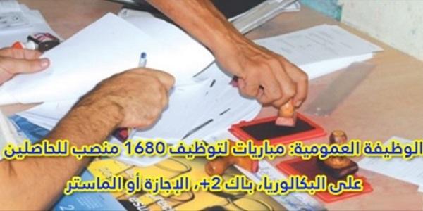 Concours Recrutement Alwadifa Maroc 1680